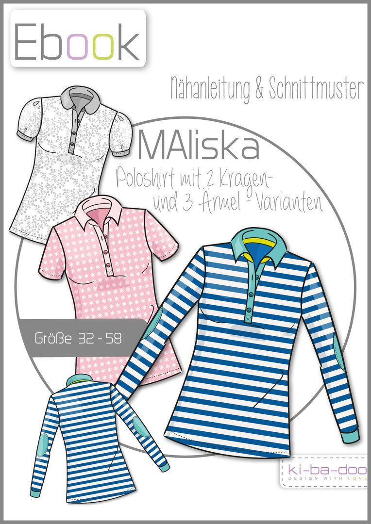 Schnittmuster kibadoo Doppel-Shirt MAlotty Papierschnittmuster