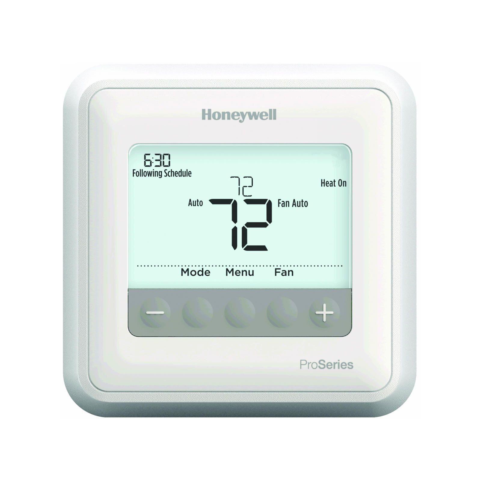 Honeywell Th6210u2001 U T6 Pro Programmable Thermostat Diy Parts Programmable Thermostat Diy Thermostat Thermostat
