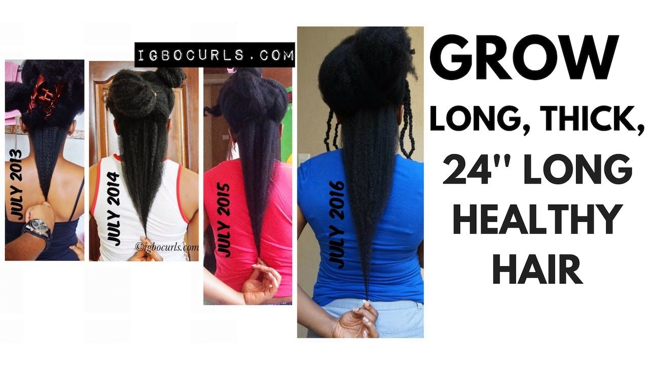 10 Tips To Grow 24 Inches Long Hair Fast 4c Natural Hair 5years Natural Hair Styles Longer Hair Faster Long Hair Styles
