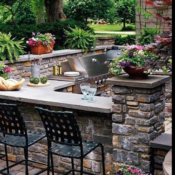 15 Most Outrageous Outdoor Kitchen Sink Station Ideas: Pin By Marsha Brown On Outside Ideas