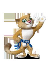2014 Sochi Winter Olympic Games Mascot: The Leopard