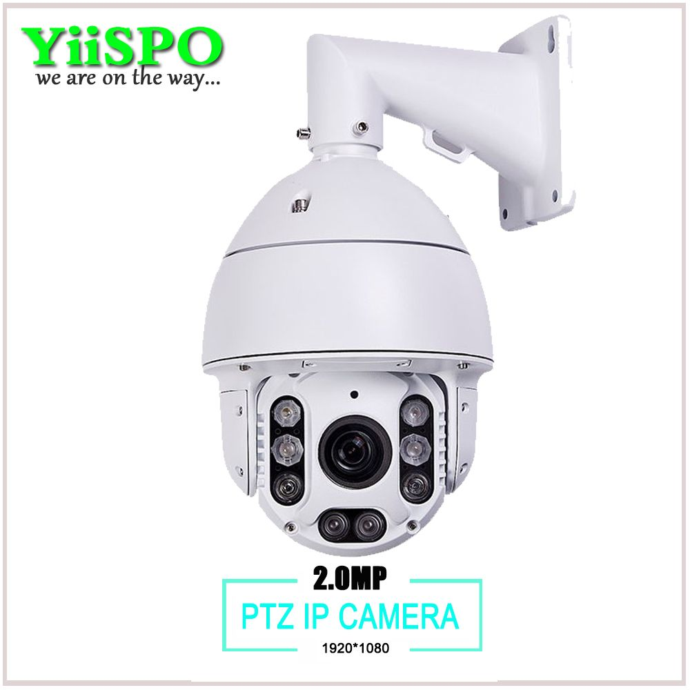 Yiispo Cctv Camera Ip 20x Zoom High Speed Dome Network 1080 View Mobile Dvr With Shock Sensor And Wifi Ptz Controller Adapter Auto