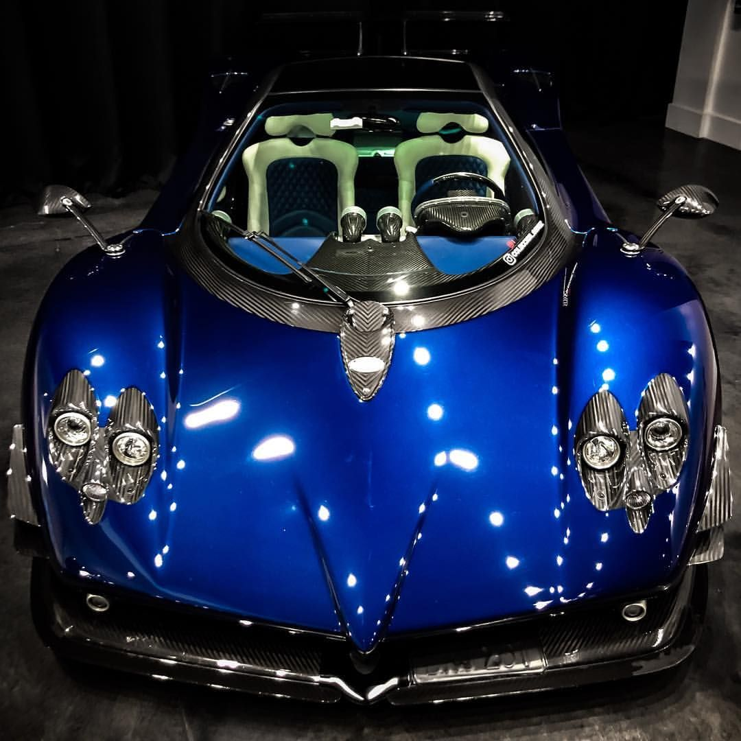 Bluetiful Pagani By Prestigeimports Brett David Amazing Car Color One Of The Best Sounding Engines Out There