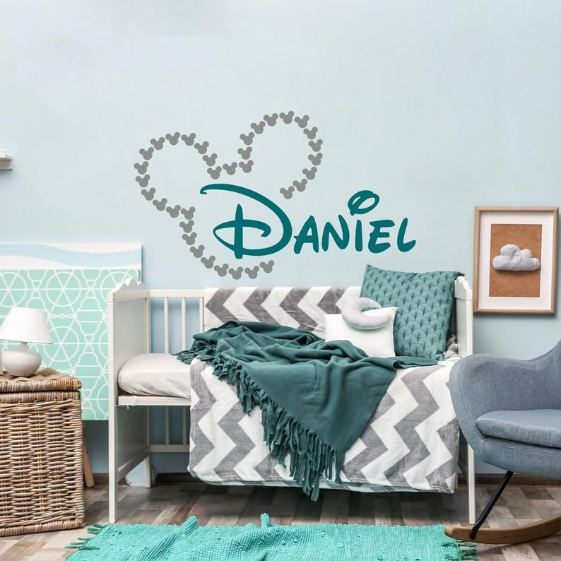 themed bedrooms for adults disney mickey mouse bedroom.htm baby name decal for nursery personalized mickey mouse wall decor  mickey mouse wall decor