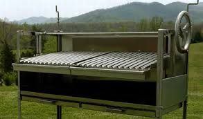 Large Charcoal Grill With Adjustable Grate Height   Google Search