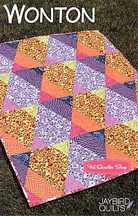 Wonton Quilt Pattern Jaybird Quilts