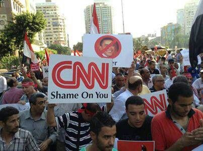 7 Jul 2013 - March from Shobra to Tahrir.. #CNN