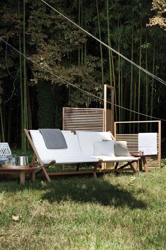 Sofá tradicional para jardín PARAGGI by Ludovica & Roberto Palomba ...