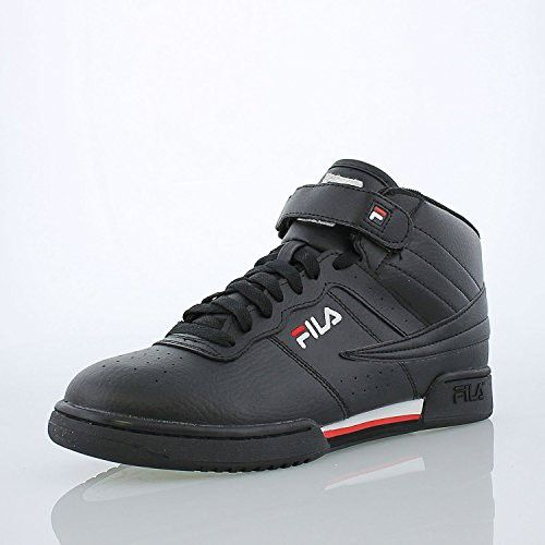 Fila Men's F 13v LeaSyn Fashion Sneaker, BlackWhiteFila