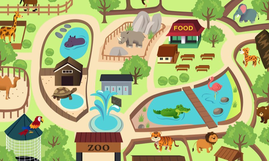 Design Your Own Zoo In 2020 Zoo Park Zoo Project Zoo Map