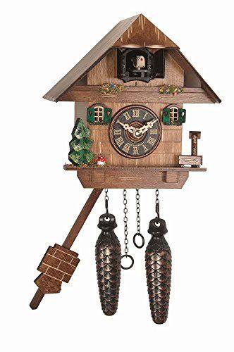 Quartz Cuckoo Clock River City Clocks Https Www Amazon Com Dp B00yz4akei Ref Cm Sw R Pi Dp X Axi7zb2k78y29 With Images Cuckoo Clock Clock Wall Clock