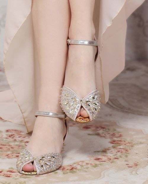 Recent buy,bridal wedding shoes, good choice for elegant women
