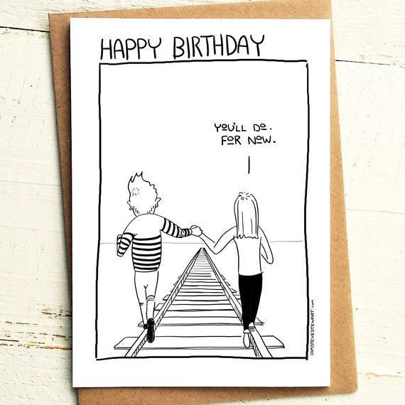 Mediocre Boyfriend Birthday Card Brutally Honest Cards Offensive Offensive Card Competen Birthday Cards For Boyfriend Boyfriend Birthday Birthday Cards