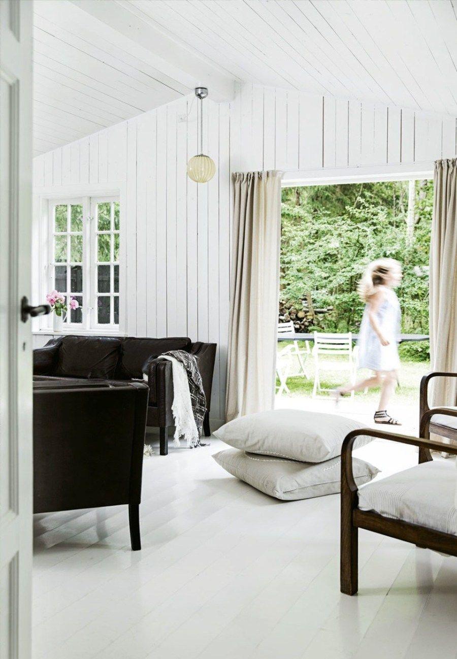 Casas de verano nórdicas para refugiarse del calor extremo