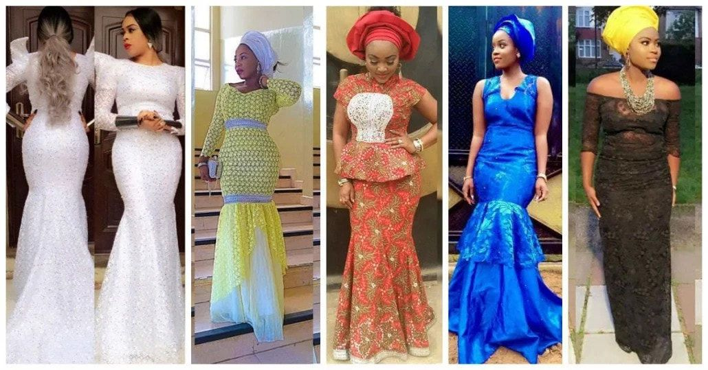 Latest lace gown styles in Nigeria | Gown | Pinterest | Nigerian ...