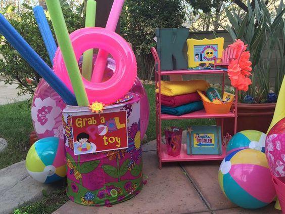 Ideas para alberqueada como fiesta infantil fiestas for Albercas para fiestas