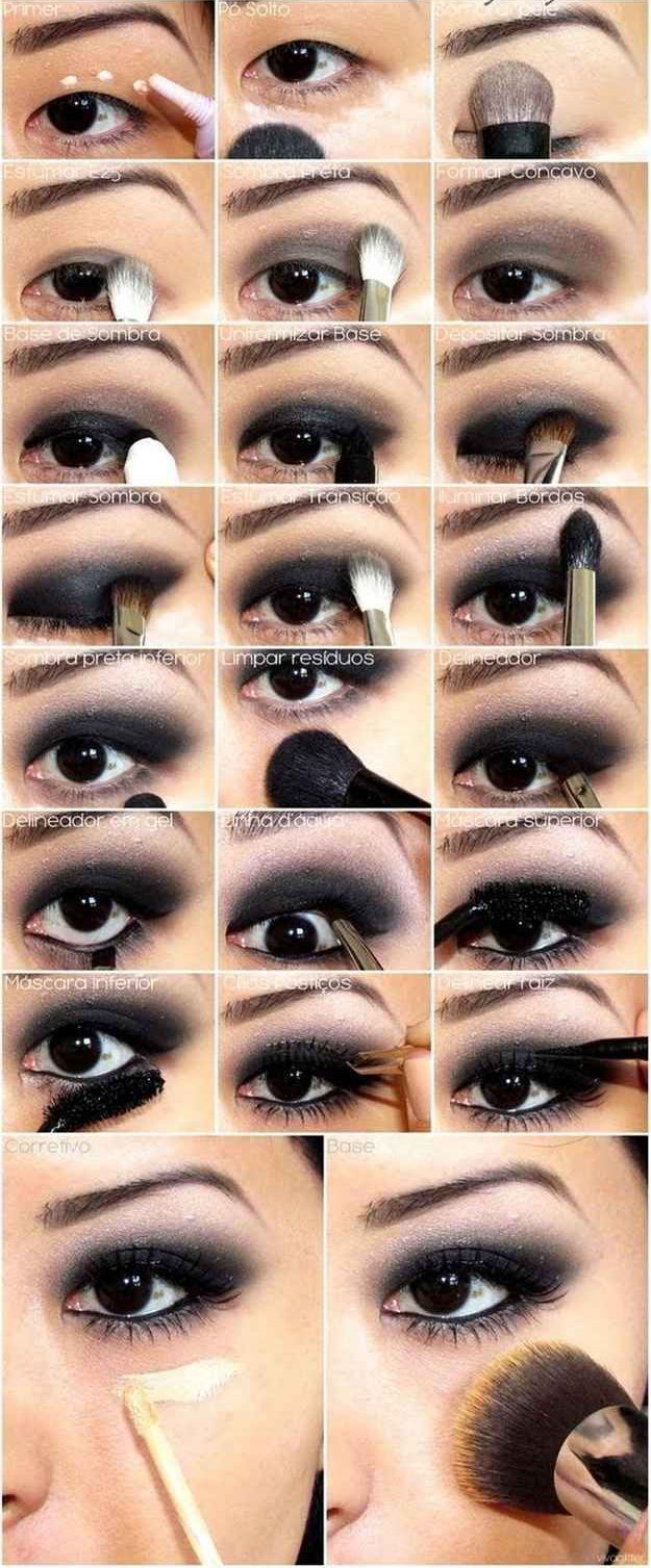 Photo of A make-up guide for the perfect Smokey Eyes look #anleitung #eyesanlei …
