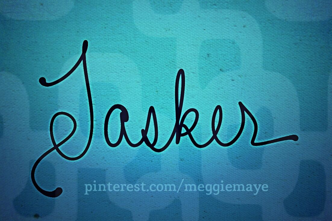 "Baby boy's name Tasker. Really incredibly unique and cool name shared by one of our ""board members"" (hehe) and neat Namers, Kasey. It was the name of her 9th-great grandfather. It was an occupational surname meaning someone who did various jobs/tasks. Among the early recordings is the marriage of James Tasker and Elizabeth Glover on July 1st 1582 in London."