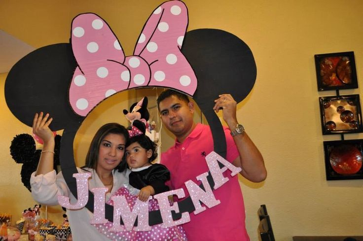 Pictorial Booth minnie mouse - Google zoeken | Olivia 1st bday ...