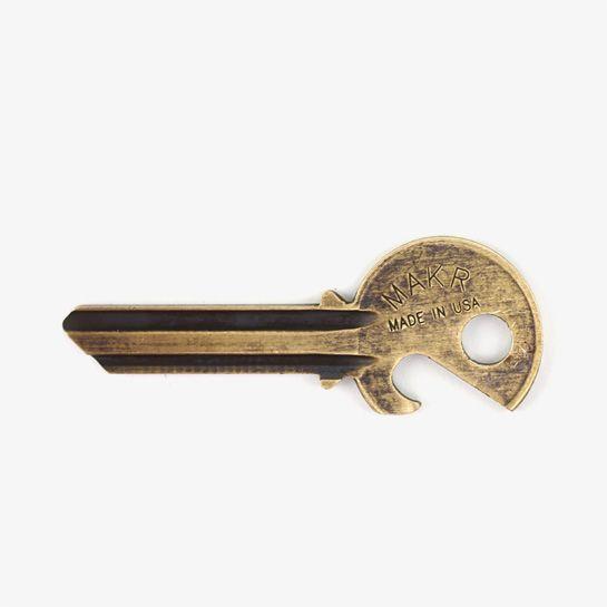 Now to cut into my own door key.