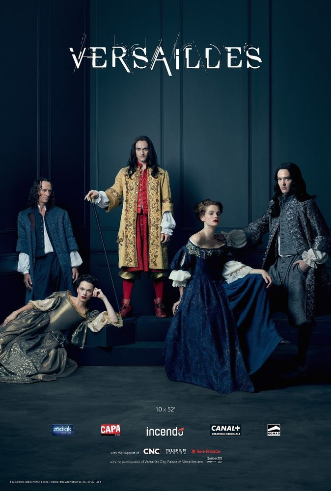 Versailles Hi-Res Movie Poster Cast of 5 | Stuff to Buy in