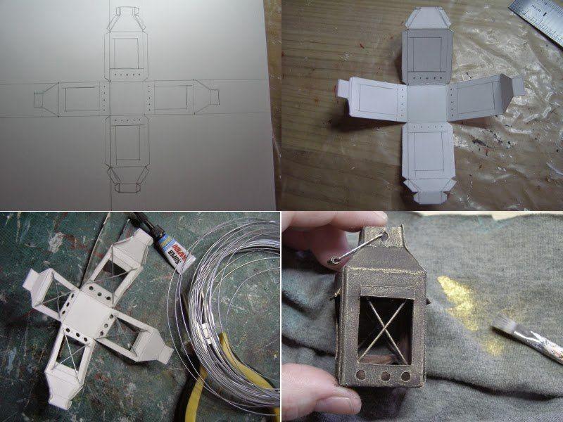 Lantern tutorial | Eu | Pinterest | Miniaturas, Belenes y Pesebre