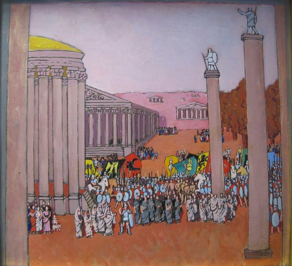 Felice Casorati   Peinture historique, Réalisme magique