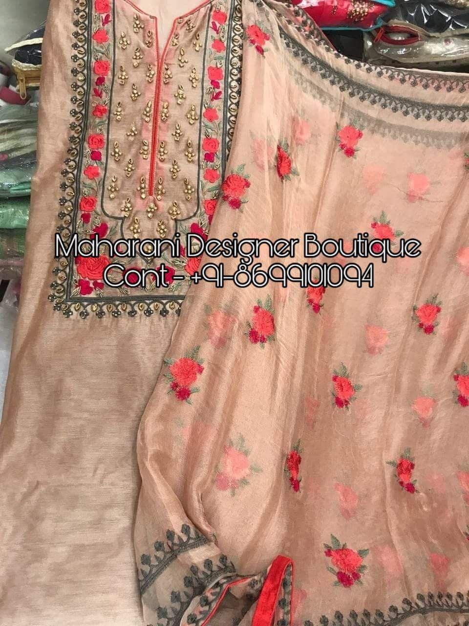 Punjabi Suits Online Boutique Salwar Suit Maharani Designer Boutique Punjabi Suits Designer Boutique Embroidery Suits Design Embroidery Suits
