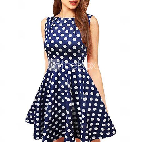 Wholesale China Wholesale Buy Wholesale Products From Chinese Wholesaler Polka Dress Fashion Polka Dot Dress