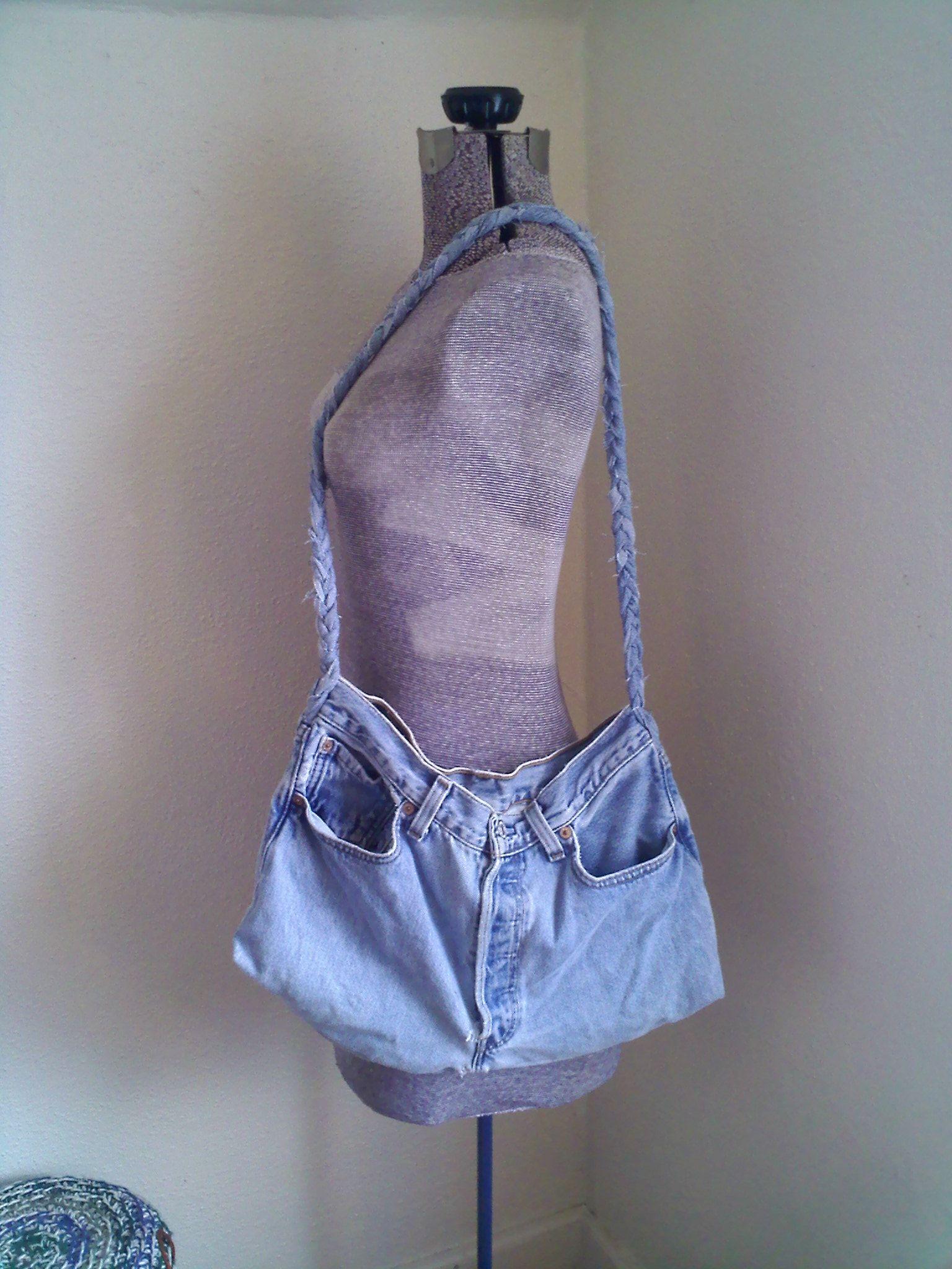 large jeans bag
