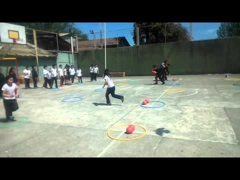 Educación Física Competencias Por Equipo (Velocidad