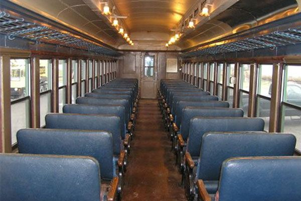 connie traveled by train to new york this kind of passenger car was in service at the time. Black Bedroom Furniture Sets. Home Design Ideas