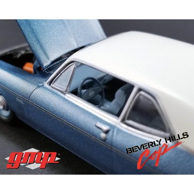 1970 Chevrolet Nova Blue With White Roof Beverly Hills Cop Movie