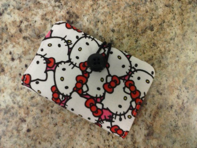 Credit cardbusiness card holder by lisalynnitems on etsy 1000 items similar to credit cardbusiness card holder hello kitty pink peace camo great to put your credit cards drivers license and put in your pocketpurse reheart