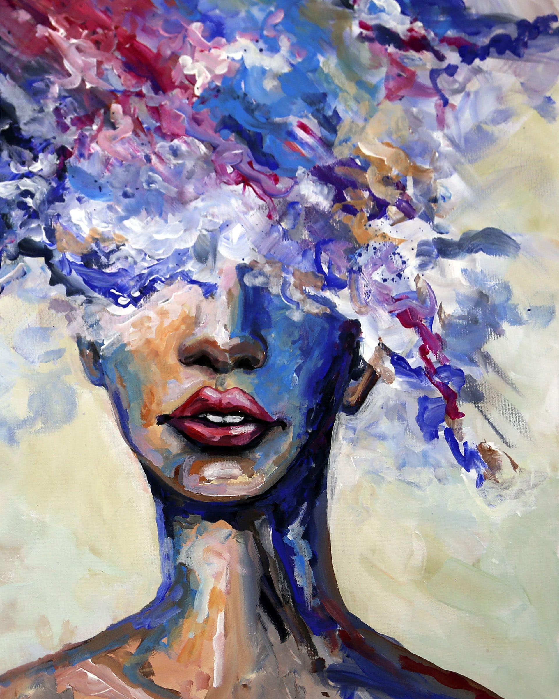 illusions kunstmalerei acryl leinwand malen amerikanischer maler modern abstrakte moderne bilder