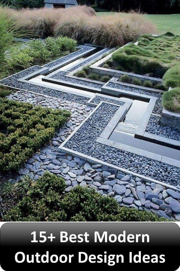 15 Best Modern Outdoor Design Ideas Taman
