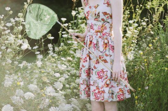 DIY Easy Sewing Spring Dress #spring #dress #tutorial #pattern
