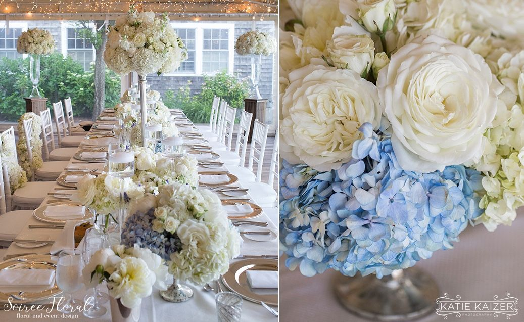 Hydrangea Garden Rose And Peonies Nantucket Wedding At The White Elephant Hotel By Soiree