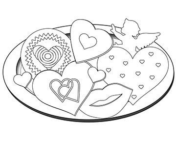 Valentine S Day Coloring Pages Kid Friendly Valentine S Day