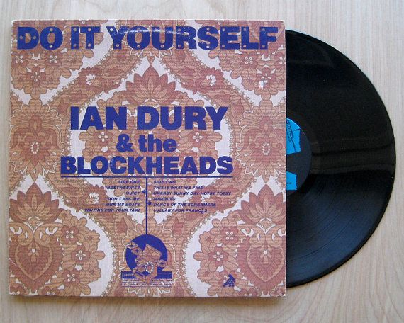 Ian dury the blockheads do it yourself vinyl record lp punk ian dury the blockheads do it yourself vinyl record lp solutioingenieria Images