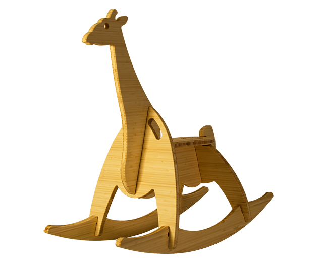 Wee Rock Toy Co. : Natural Bamboo Plywood: The Giraffe