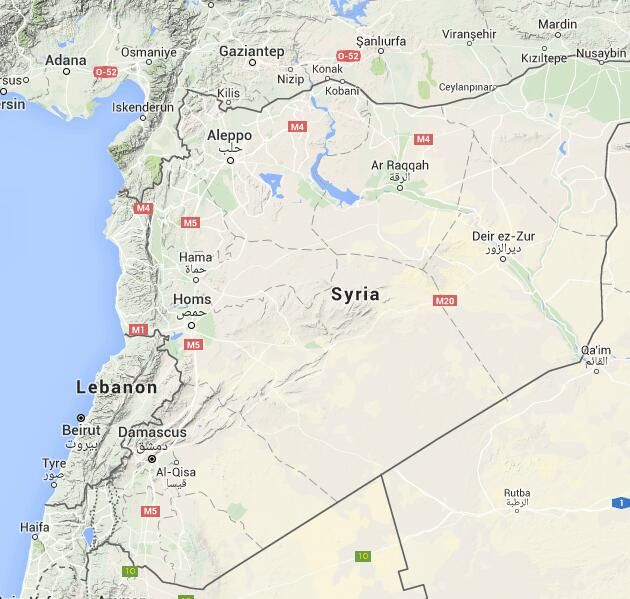 Map of Syrian Civil war/ Global conflict in Syria - liveuamap.com ...