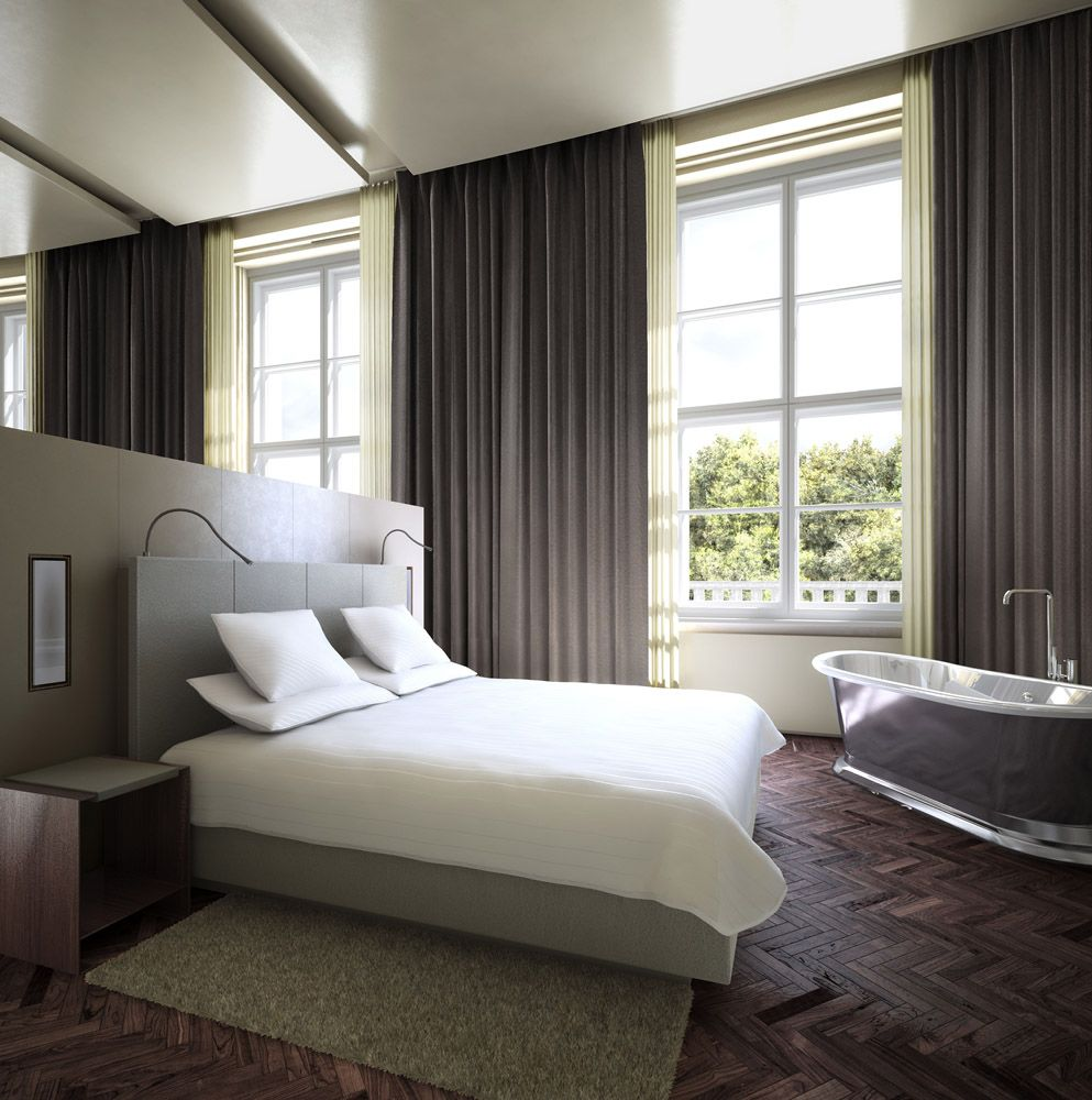 Architectural Rendering 3d Interior Design Of A Five Star Hotel In Hotel Room Interior Hotel Interiors Interior Inspiration Bedroom