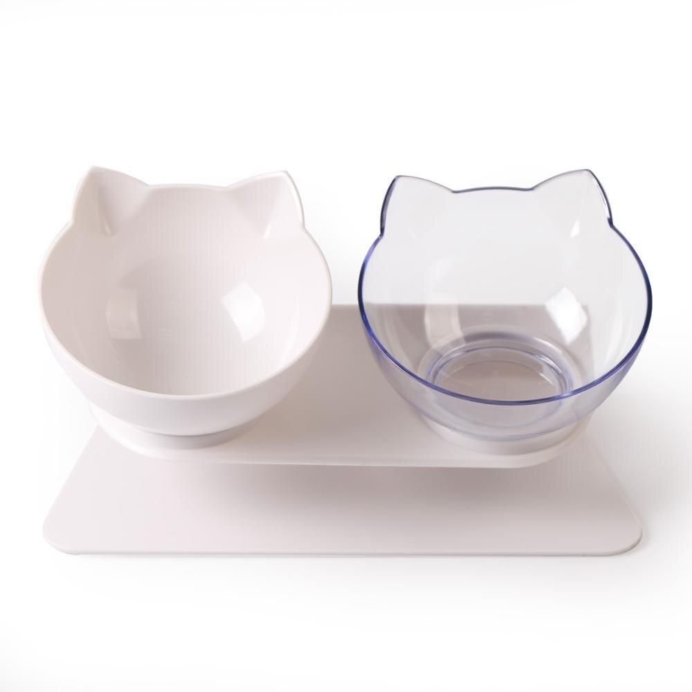 Transparent Black Plastic Cat Bowl Thekittenpark In 2020 Cat Bowls Bowl Dog Bowls