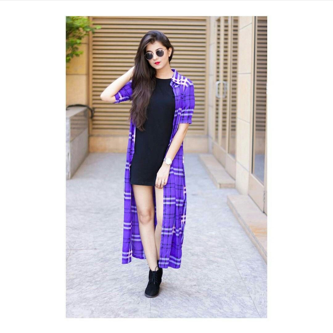 Girls Fashion N Style Shrug For Dresses Clothes For Women Fashion Outfits [ 1080 x 1080 Pixel ]