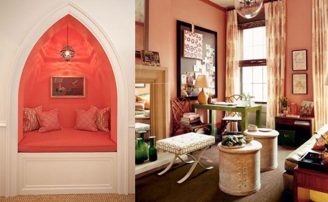 Koraalkleur De Woonkamer : Pin van sigrit op kleuren kleuren slaapkamer en home design