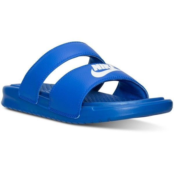 Nike Women s Benassi Duo Ultra Slide Sandals from Finish Line ( 40 ... 09f4bcc55