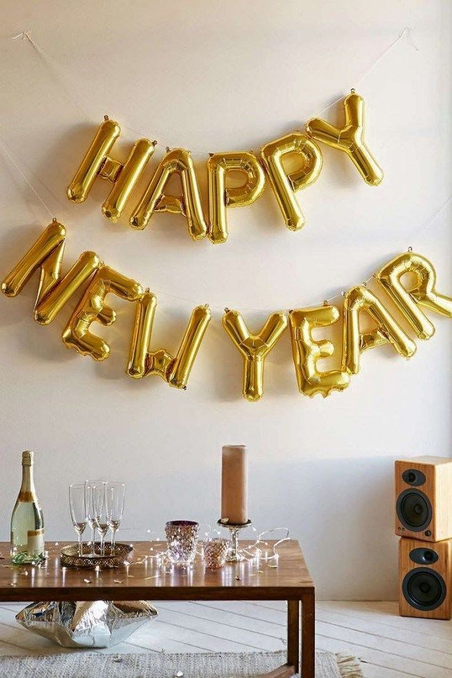NewYear Newyearsparty Newyearscelebration 2017 DIY Decoration Ideas For New Years Eve Party Decorations