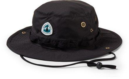 Crown Trails Headwear Pacific Crest Trail Association Bucket Hat  REI Coop  Crown Trails Headwear Pacific Crest Trail Association Bucket Hat Black SM