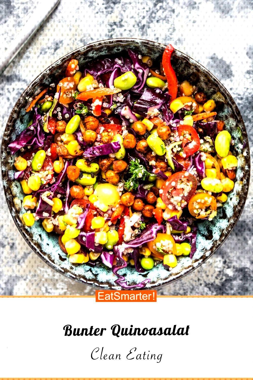 Bunter quinoa salad - Bunter Quinoa Salad – Smarter – Calories 523 kcal – Time 35 Min. |